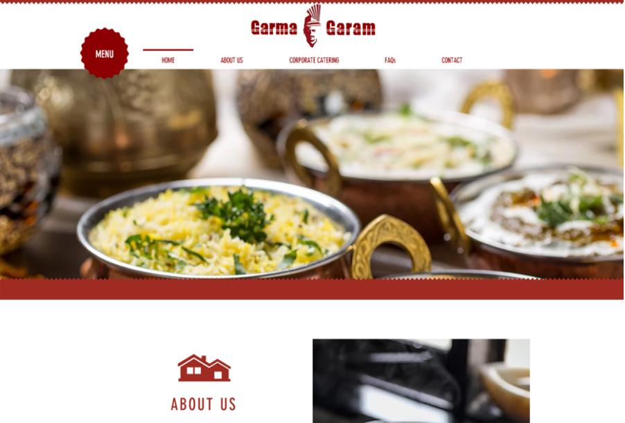 Garama Garam, Indian Restaurant in Clyde, Sydney, Australia
